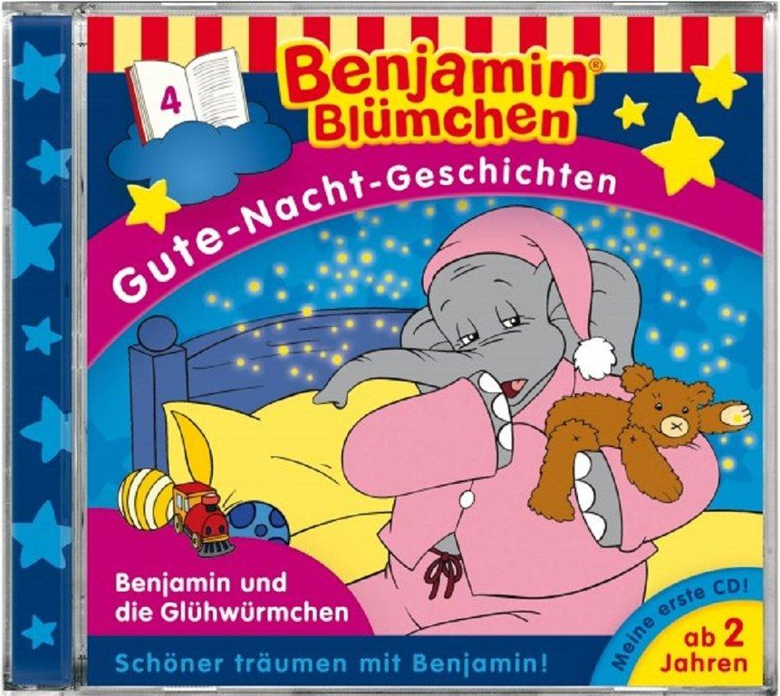 Benjamin Blumchen Gute Nacht Geschichten Cd 4 Und Die Gluhwurmchen