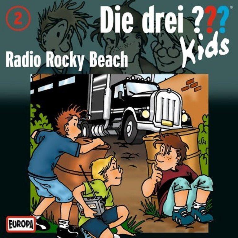 die drei fragezeichen 3 kids h rspiel cd 002 2 radio rocky beach neu ovp hoerspiele. Black Bedroom Furniture Sets. Home Design Ideas