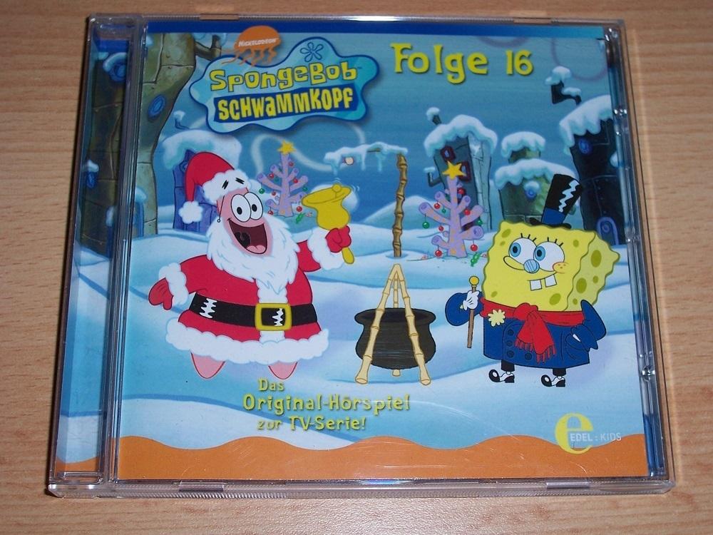 SpongeBob Schwammkopf Hörspiel CD 016 16 Weihnachten unter Wasser ...