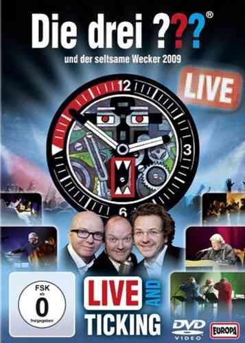 DVD Die drei Fragezeichen 3 ??? und der seltsame Wecker 2009 Live and Ticking NEU & OVP