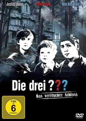 DVD Die drei Fragezeichen 3 ??? Kinofilm 2 Das verfluchte Schloss 2009 NEU & OVP