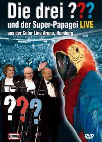 DVD Die drei Fragezeichen  3 ???  und Der Super-Papagei 2004 Live and Ticking NEU & OVP