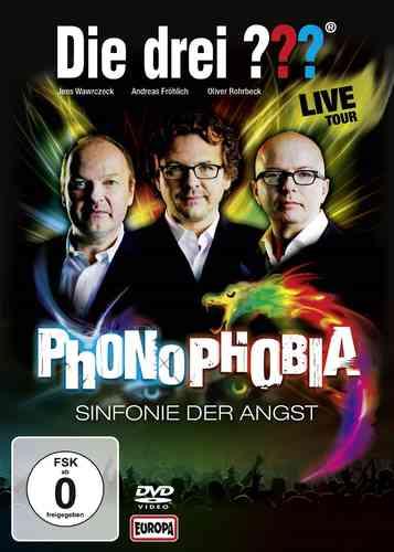 DVD Die drei Fragezeichen 3 ??? Phonophobia: Sinfonie der Angst  2014 Live and Ticking NEU & OVP