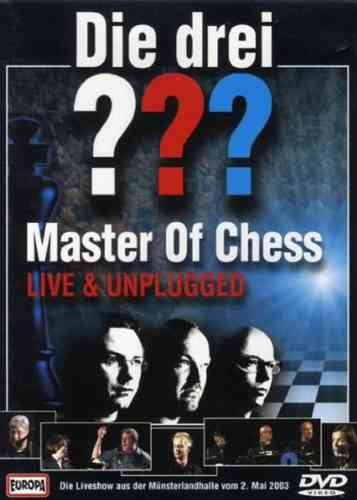 DVD Die drei 3 ??? Fragezeichen Master of Chess MOC 2002 Live and Ticking NEU