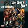 Die Drei Fragezeichen 3 ??? Kids Hörspiel CD 007  7 Gruft der Piraten  NEU &  OVP