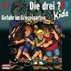 Die Drei Fragezeichen 3 ??? Kids Hörspiel CD 006  6 Gefahr im Gruselgarten NEU & OVP