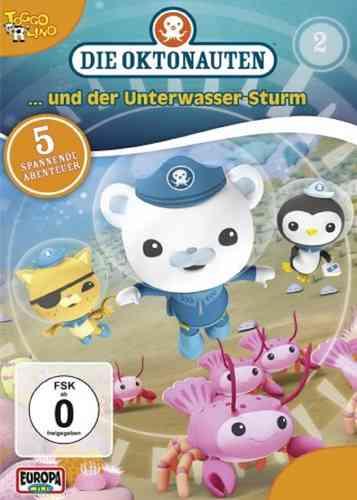 DVD Die Oktonauten  2 und der Unterwassersturm  TV-Serie 5 Episoden OVP & NEU