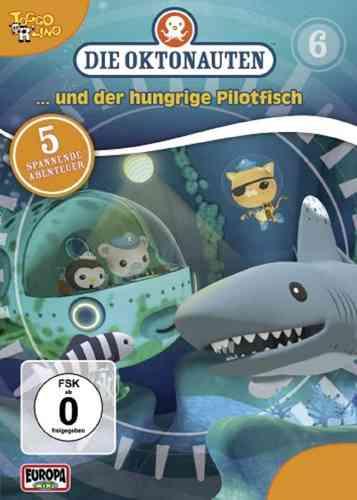 DVD Die Oktonauten  6 und der hungrige Pilotfisch  TV-Serie 5 Episoden OVP & NEU