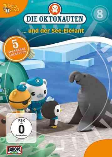 DVD Die Oktonauten  8 Die Oktonauten und der Seeelefant TV-Serie 5 Fol OVP & NEU