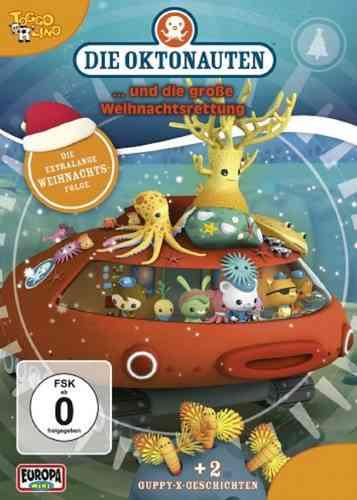 DVD Die Oktonauten und die große Weihnachtsrettung X-Mas TV-Serie OVP & NEU