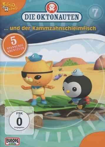 DVD Die Oktonauten  7 und der Kammzahnschleimfisch TV-Serie 5 Episoden OVP & NEU