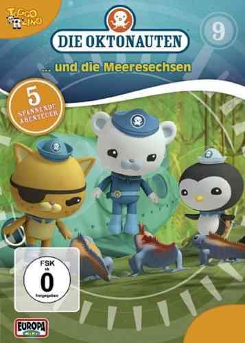 DVD Die Oktonauten  9 und die Meeresechsen  TV-Serie 5 Episoden OVP & NEU