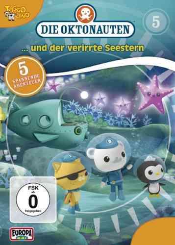 DVD Die Oktonauten  5 und der verirrte Seestern  TV-Serie 5 Episoden OVP & NEU