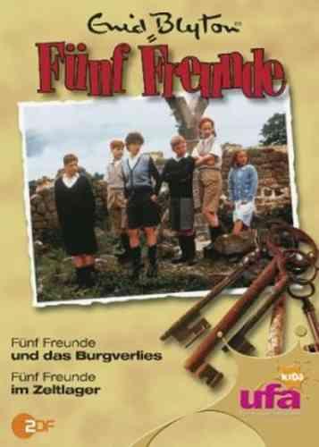 DVD 5 Fünf Freunde  4 und das Burgverlies + im Zeltlager TV-Serie ZDF NEU & OVP