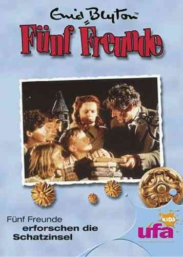 DVD 5 Fünf Freunde  2 erforschen die Schatzinsel TV-Serie ZDF NEU & OVP