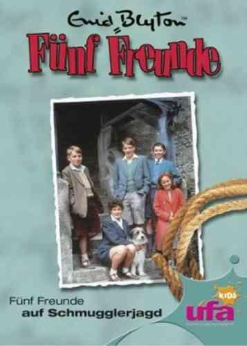 DVD 5 Fünf Freunde  3 auf Schmugglerjagd TV-Serie ZDF NEU & OVP