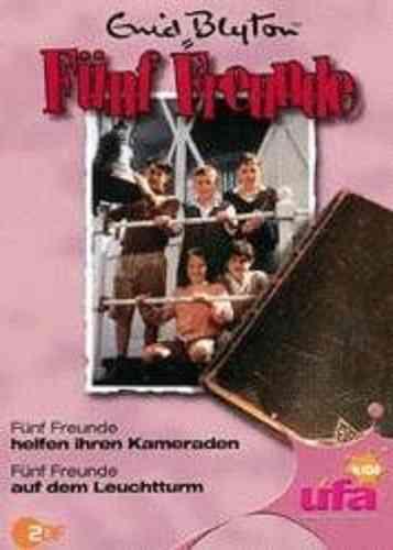 DVD 5 Fünf Freunde  5 helfen ihren Kameraden + auf dem Leuchtturm TV-Serie ZDF NEU & OVP