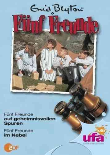 DVD 5 Fünf Freunde  8 auf geheimnisvollen Spuren + im Nebel TV-Serie ZDF NEU & OVP