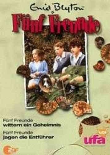 DVD 5 Fünf Freunde  6 wittern ein Geheimnis + jagen die Entführer  NEU & OVP