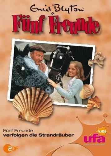 DVD 5 Fünf Freunde 14 verfolgen die Strandräuber TV-Serie ZDF NEU & OVP