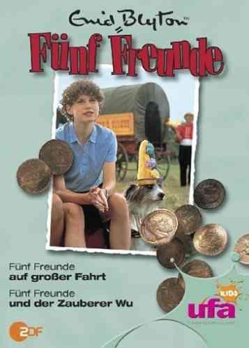 DVD 5 Fünf Freunde  9 auf großer Fahrt + und der Zauberer Wu TV-Serie ZDF NEU & OVP