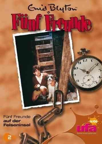 DVD 5 Fünf Freunde 10 auf der Felseninsel TV-Serie ZDF NEU & OVP