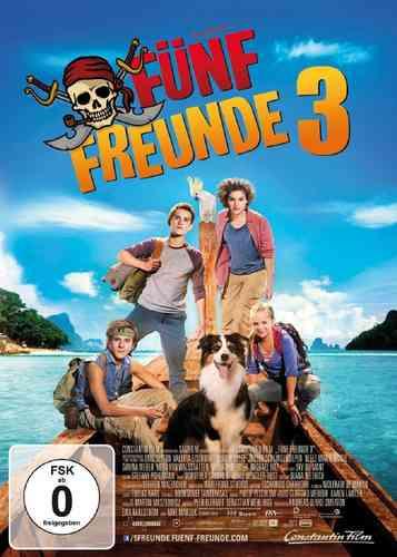 DVD 5 Fünf Freunde der Kinofilm 3 - von 2014  Kino Film  NEU & OVP