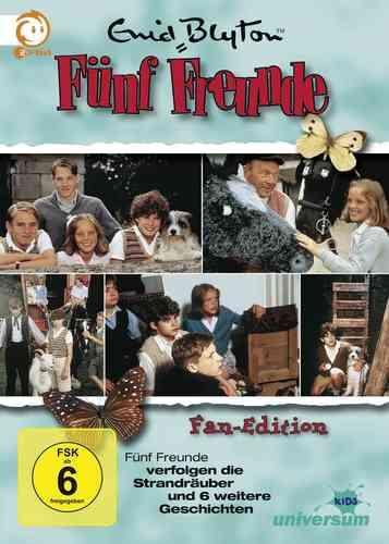 DVD 5 Fünf Freunde Box 1 mit 8 Folgen Collector's Fan Edition 5 DVDs TV-Serie ZDF NEU OVP