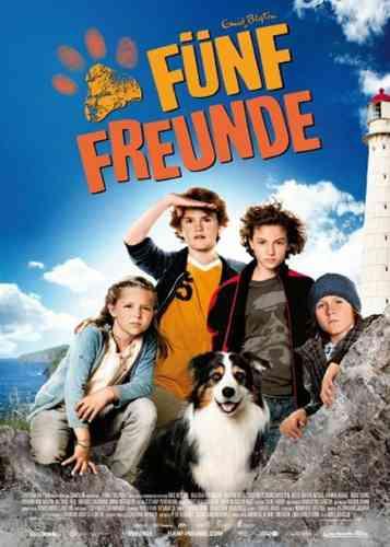 DVD 5 Fünf Freunde der Kinofilm 1 - von 2011 / 2012  Kino Film  NEU & OVP