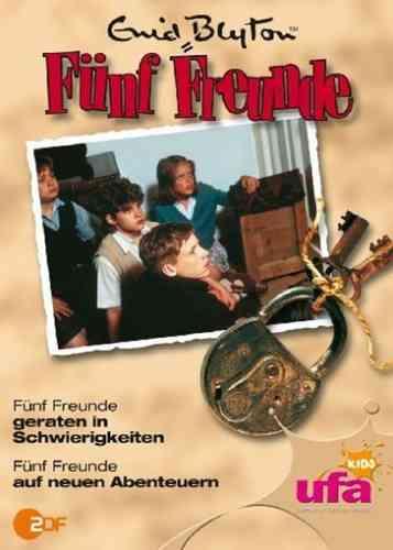 DVD 5 Fünf Freunde 11 geraten in Schwierigkeiten + auf neuen Abenteuern TV-Serie ZDF NEU & OVP
