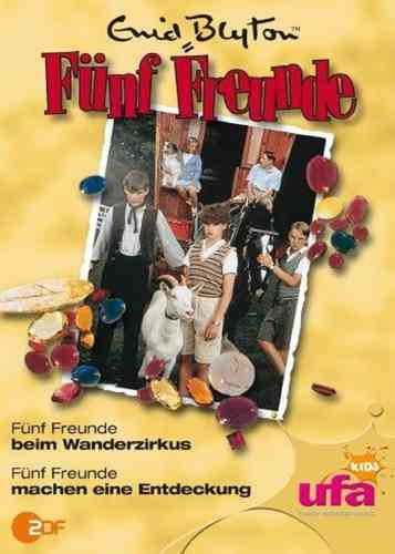 DVD 5 Fünf Freunde 13 beim Wanderzirkus + machen eine Entdeckung TV-Serie ZDF NEU & OVP