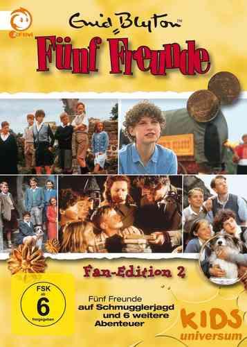 DVD 5 Fünf Freunde Box 2 mit 10 Folgen Collector's Fan Edition 5 DVDs TV-Serie ZDF NEU