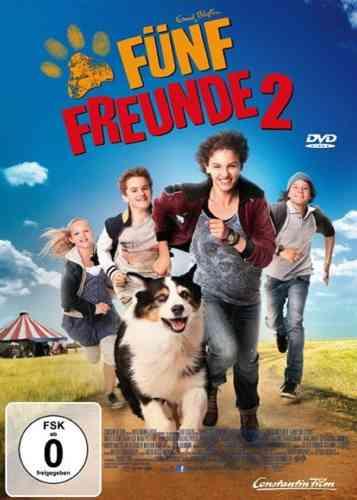 DVD 5 Fünf Freunde der Kinofilm 2 - von 2012 / 2013  Kino Film  NEU & OVP