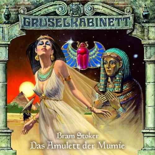 Gruselkabinett Hörspiel CD 002   2 Das Amulett der Mumie Bram Stokers  NEU & OVP