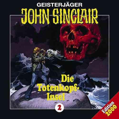 John Sinclair Hörspiel CD 002   2 Die Totenkopfinsel Totenkopf-Insel  NEU & OVP
