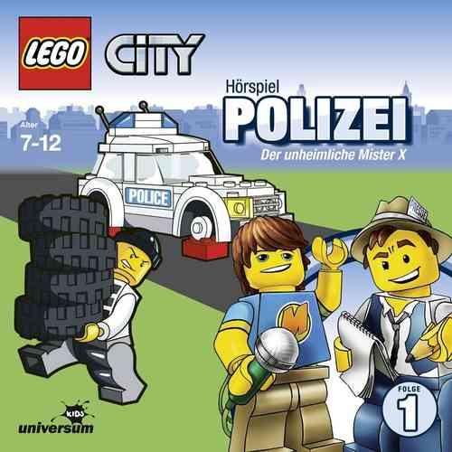LEGO ® City Hörspiel CD 001  1 Polizei - Der Unheimliche Mister X  Universum Kids NEU & OVP