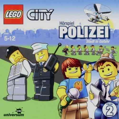 LEGO ® City Hörspiel CD 002  2 Polizei - Stadt In Gefahr Universum Kids NEU & OVP