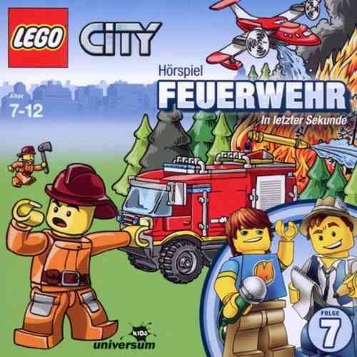 LEGO ® City Hörspiel CD 007  7 Feuerwehr - In letzter Sekunde  Universum Kids NEU & OVP