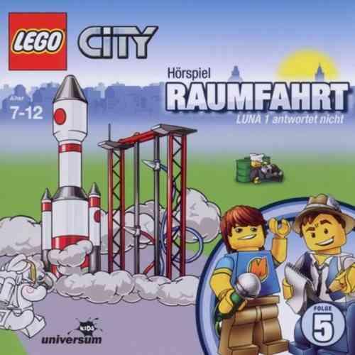LEGO ® City Hörspiel CD 005  5 Raumfahrt - LUNA 1 antwortet nicht  Universum Kids NEU & OVP