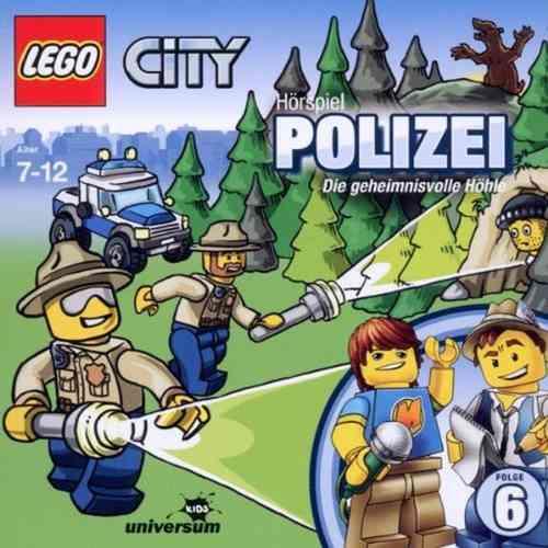 LEGO ® City Hörspiel CD 006  6 Polizei - Die geheimnisvolle Höhle  Universum Kids NEU & OVP