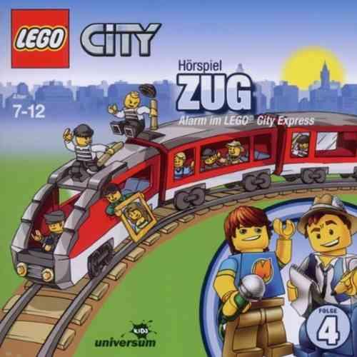 LEGO ® City Hörspiel CD 004  4 Zug - Alarm im LEGO City Express  Universum Kids NEU & OVP