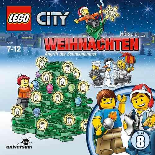 LEGO ® City Hörspiel CD 008  8 Weihnachten in Lego City  Universum Kids NEU & OVP