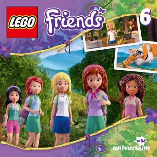 LEGO ® Friends Hörspiel CD 006  6 Das Dschungel-Abenteuer  Universum Kids NEU & OVP