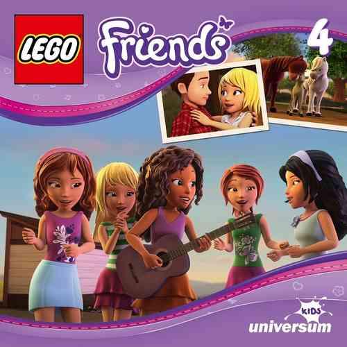 LEGO ® Friends Hörspiel CD 004  4 Ein Wochenende auf dem Bauernhof  Universum Kids NEU & OVP