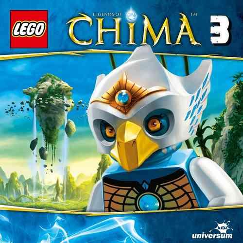 LEGO ® Legends of Chima Hörspiel CD 003  3 Das Heiligtum der Wölfe  Universum Kids NEU & OVP