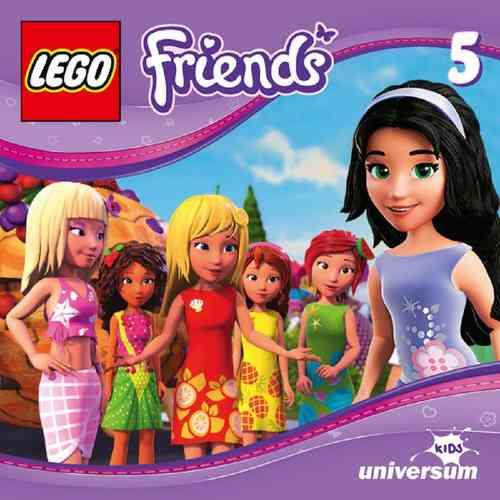 LEGO ® Friends Hörspiel CD 005  5 Der Festwagen-Wettbewerb  Universum Kids NEU & OVP