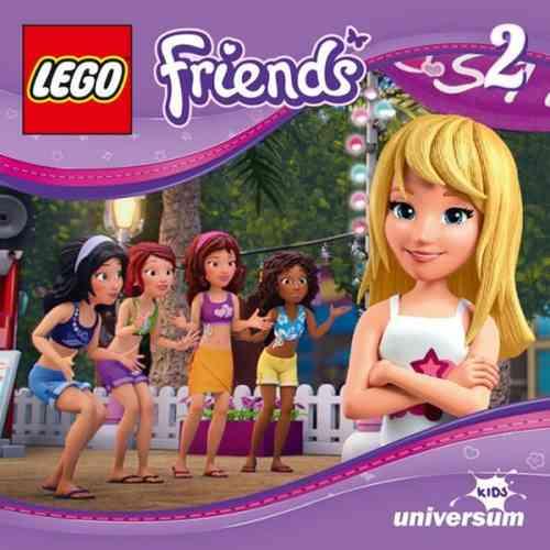 LEGO ® Friends Hörspiel CD 002  2 Die Überraschungsparty  Universum Kids NEU & OVP