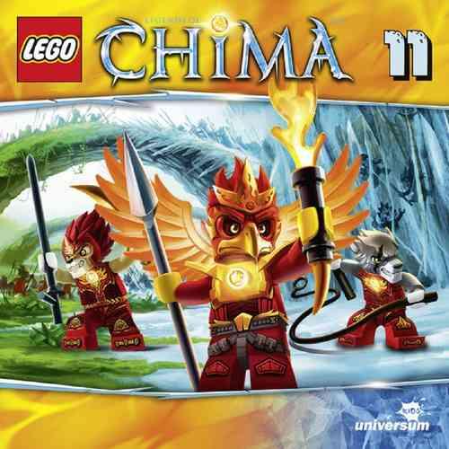 LEGO ® Legends of Chima Hörspiel CD 011 11 Die Feuerprobe  Universum Kids NEU & OVP