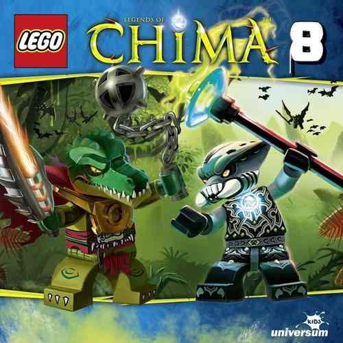 LEGO ® Legends of Chima Hörspiel CD 008  8 Ausflug ins Hinterland  Universum Kids NEU & OVP