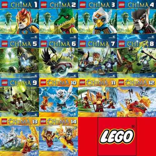 LEGO ® Legends of Chima Hörspiel CD  1 - 14 x CDs Sammlung komplett Paket  NEU